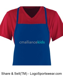 Medium Apron With Pouch Design Zoom